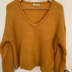 Madewell Mustard Yellow Sweater